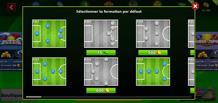 formations Soccer Stars