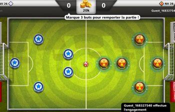 Jeu Soccer Stars Android iOS