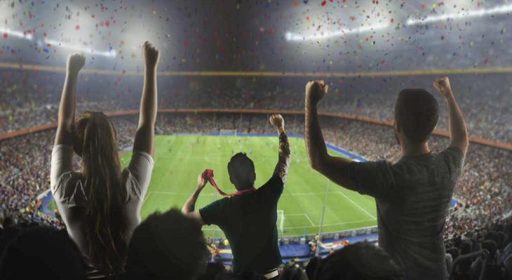 Stade de foot avec la meilleure ambiance