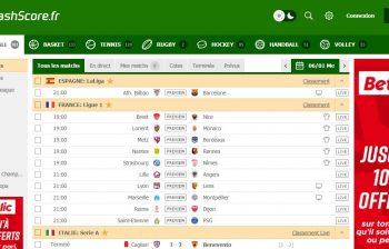 FlashScore – le top des applications pour suivre le foot
