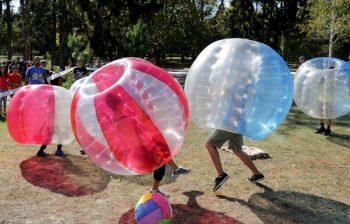 Le bubble foot, une activité en plein essor !